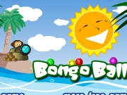 Bongo balls. 1 http://www.freegamesjungle.com world_begin_01.wav Instructions Destroy marbles by forming groups of 3 with the same colour.Click mouse to shoot marbles, press space bar swap colour marble be shoot....
