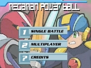 Game Megaman power ball