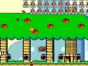 Mario combat. Mario Combat start Use your mouse to move Marioand click fire, Fire Balls. Save His Home from being burnt the ground by bowser Clones Score: Lives: You Saved Your House restart...