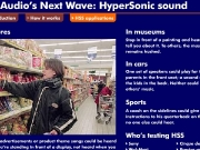 Game Hypersonic sound