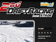 Game 2nd drift racing snow stage
