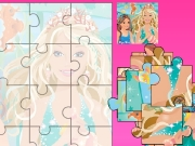 Game Barbie puzzle 3