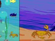 Fish in sea decoration