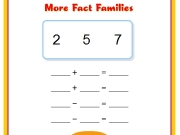 More fact families. sound/6b.swf 00 A fact family shows all the related facts for a set of numbers....