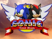 Game Sonic Test Run