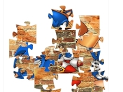 Game Sonic jigsaw 1