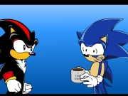 Sonic first cup of coffee by thewax. 0.00% http://www.deviantart.com...