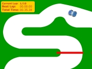 Racing part1 step3. Ready Set Go!! Current Lap: Best Total Time: 00.00.00 000000 Play Again Race Over...