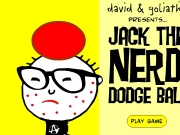 Game Jack the nerd - dodge ball