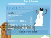 Snow ball mini. 00000 / KB 500 100 score bonus total Name ---- 3 2 1 TURN ???? m...