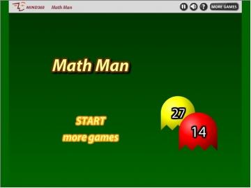 Math man game