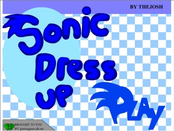 Dress Up Sonic Games
